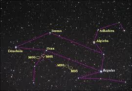 Constelación leo